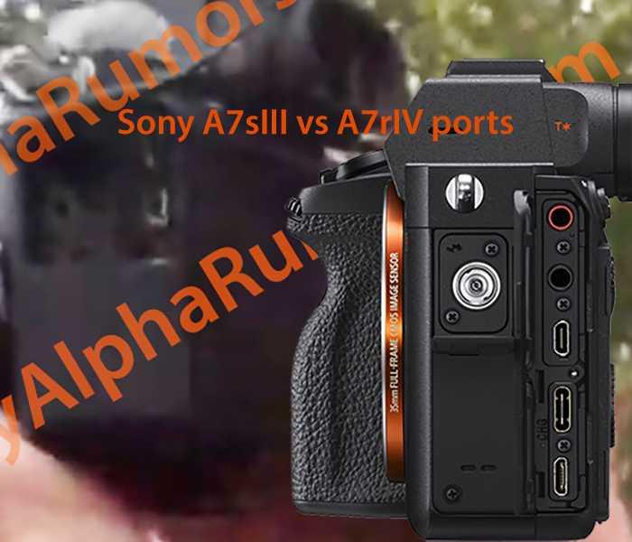 Sony A7s III: spunta un'immagine sfocata della mirrorless