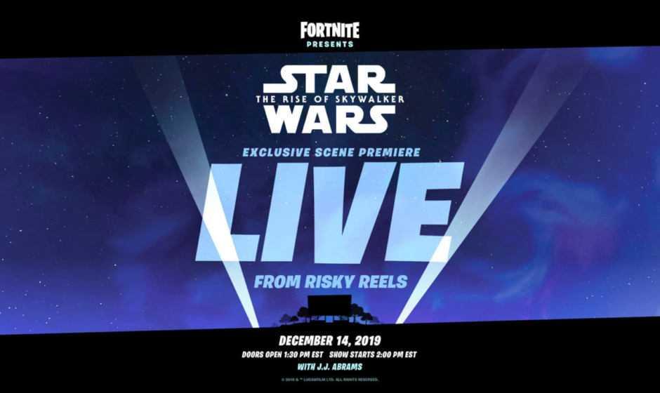 Fortnite: evento a tema Star Wars, L'Ascesa di Skywalker