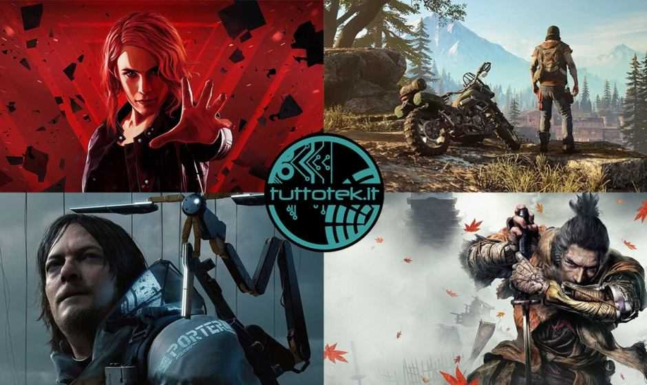 Top 10: ecco i migliori giochi del 2019 secondo tuttoteK