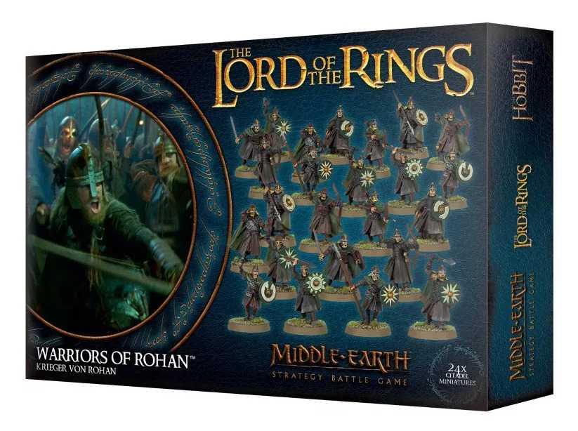 Come dipingere miniature Games Workshop - Tutorial 45: guerrieri di Rohan