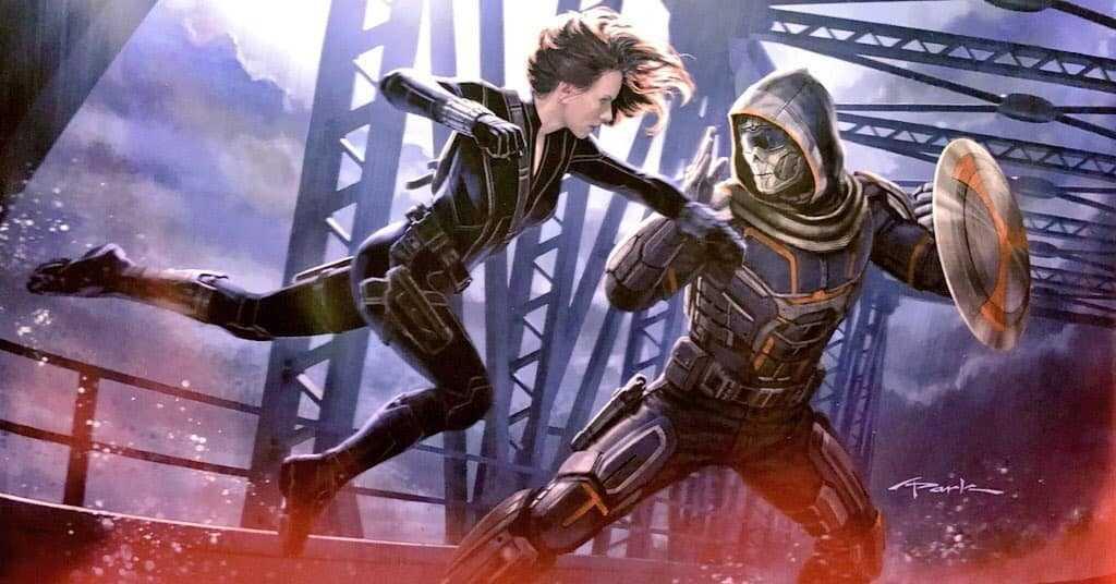 Ecco Taskmaster nel nuovo trailer di Black Widow