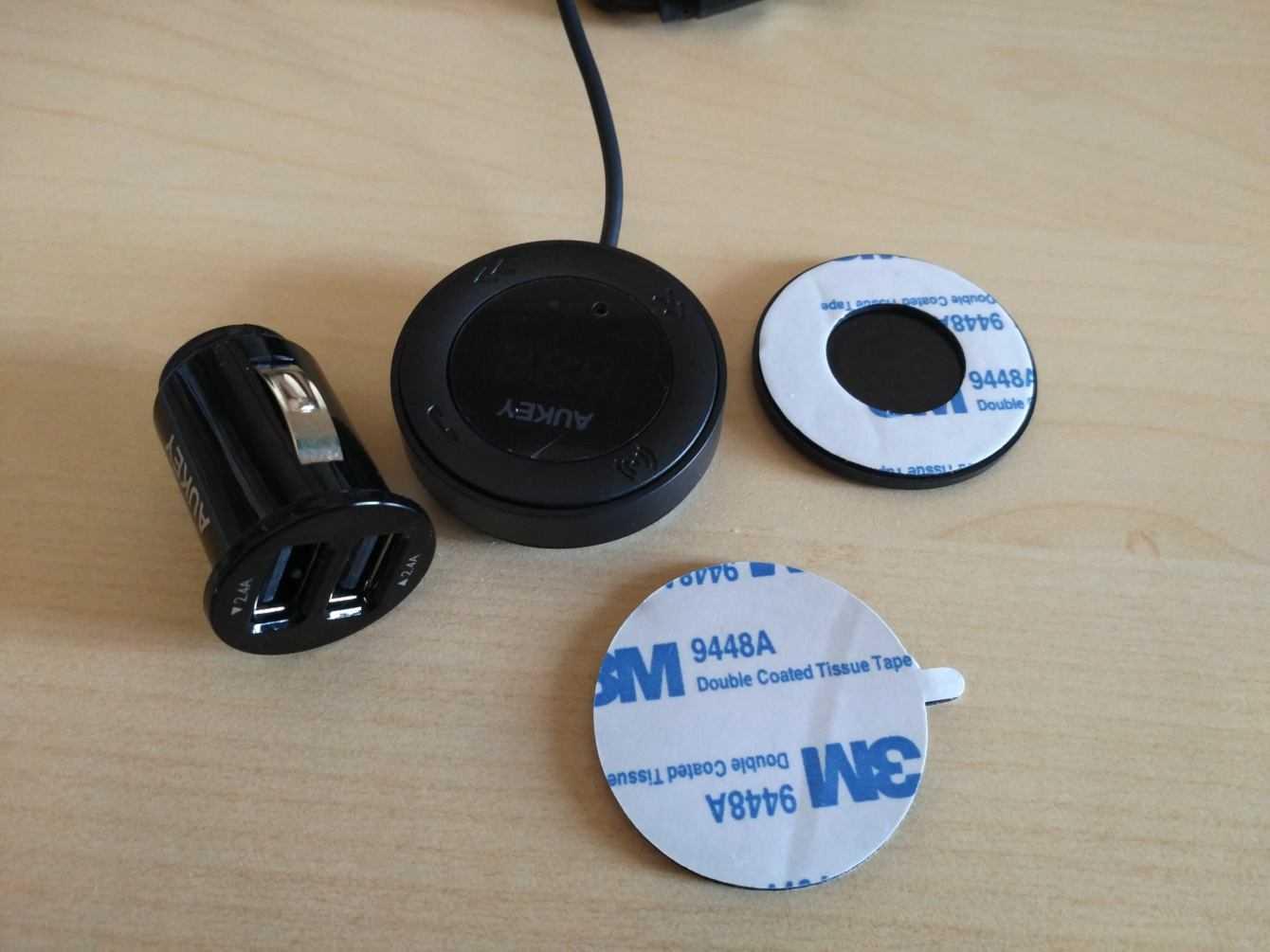 Recensione AUKEY BT-F4: il trasmettitore FM wireless funzionale ed economico
