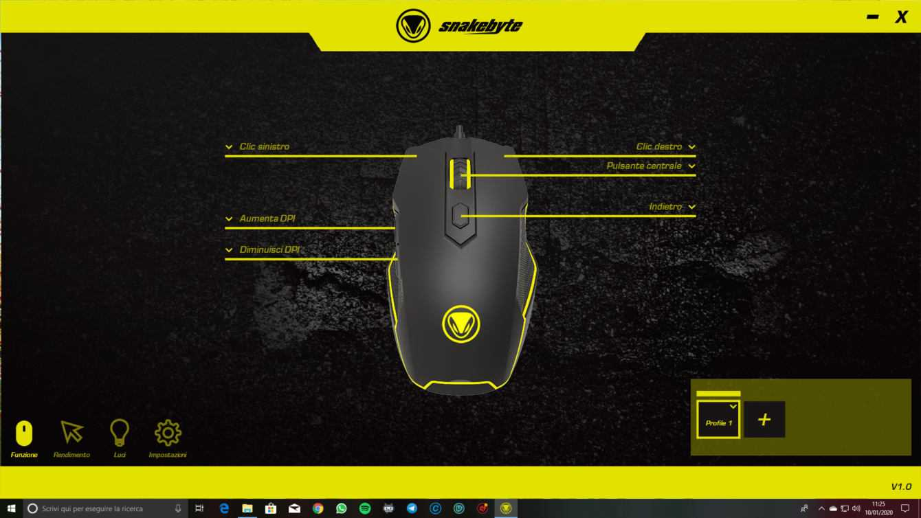 Recensione Game:Mouse Ultra, il gaming secondo Snakebyte