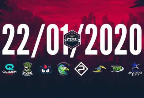 I PG Nationals Spring Split 2020 inizia il 22 gennaio
