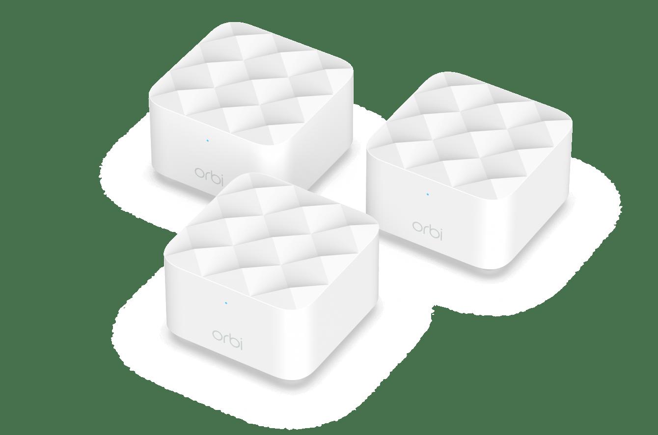 Netgear Orbi super compatto: copertura WiFi e design al top