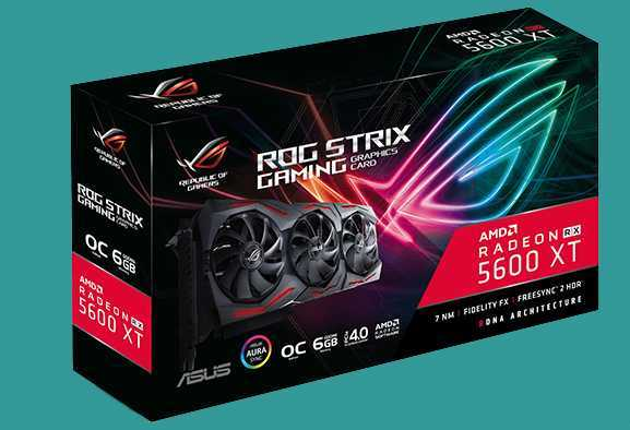 ASUS Radeon RX 5600 XT: nuove GPU ROG Strix, ASUS TUF Gaming X3 e Dual EVO