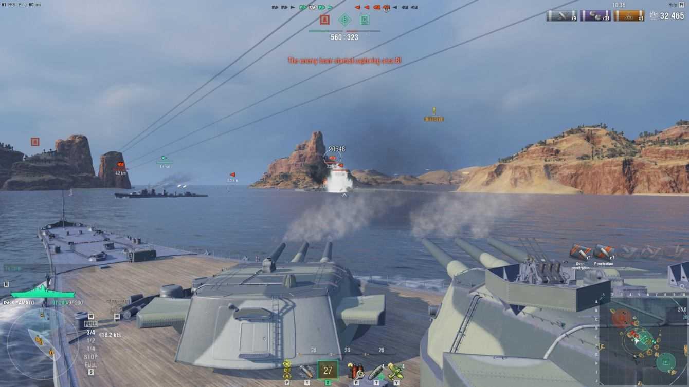 World of Warships: guida e consigli al sistema di controllo delle navi