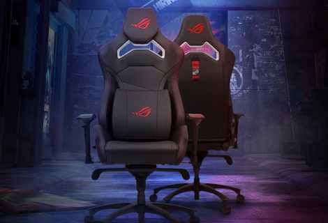 ROG Chariot Core: nuova sedia da gaming targata Asus