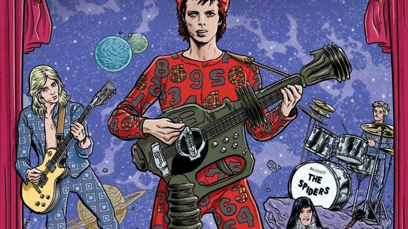 David Bowie raccontato a fumetti: la graphic novel biografica