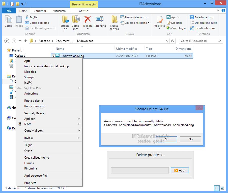 Come cancellare definitivamente un file su Windows   Guida