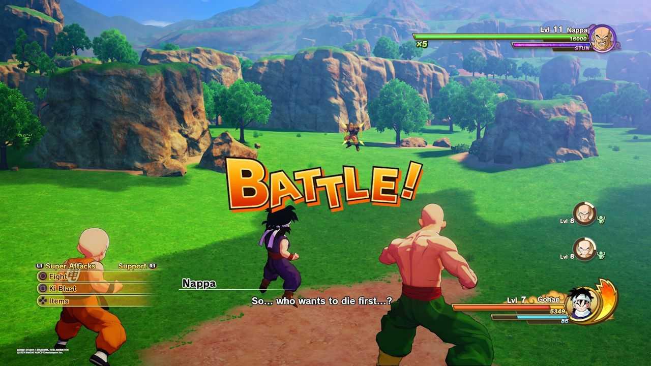 Dragon Ball Z Kakarot: come battere Nappa usando Gohan
