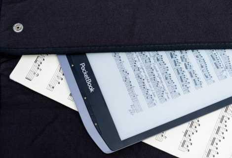 InkPad X di Pocketbook, un ereader per leggere la musica