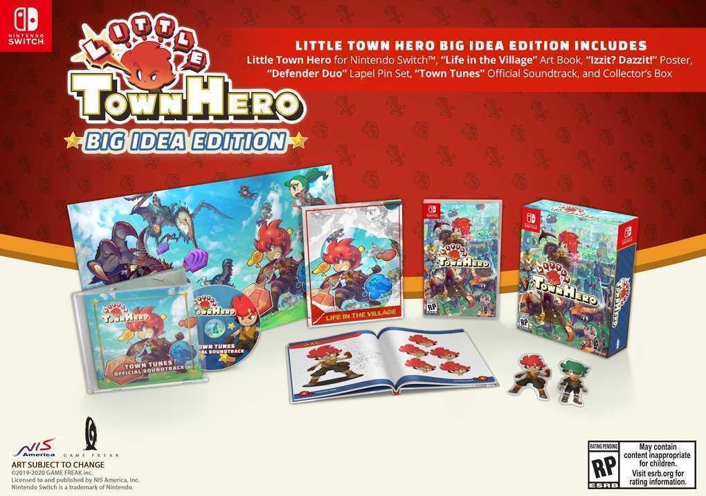 Little Town Hero Big Idea Edition: in arrivo l'edizione fisica