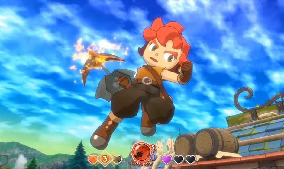 Little Town Hero arriverà anche su PlayStation 4