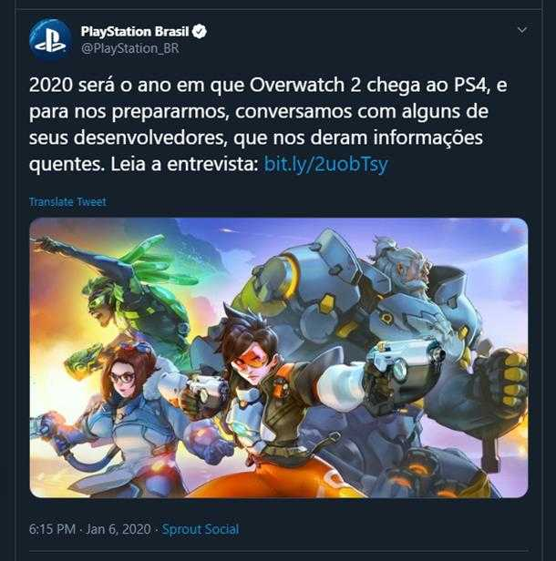 Overwatch 2: data d'uscita nel 2020?