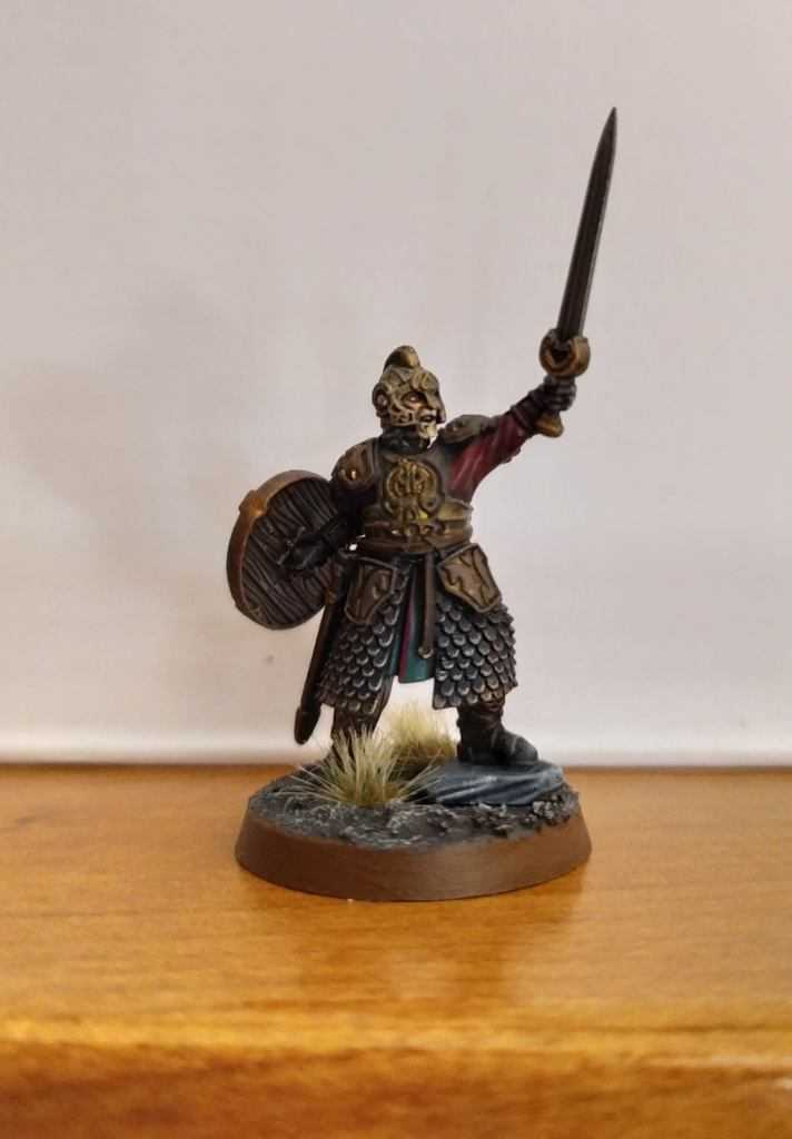 Come dipingere miniature Games Workshop - Tutorial 46: Re Théoden