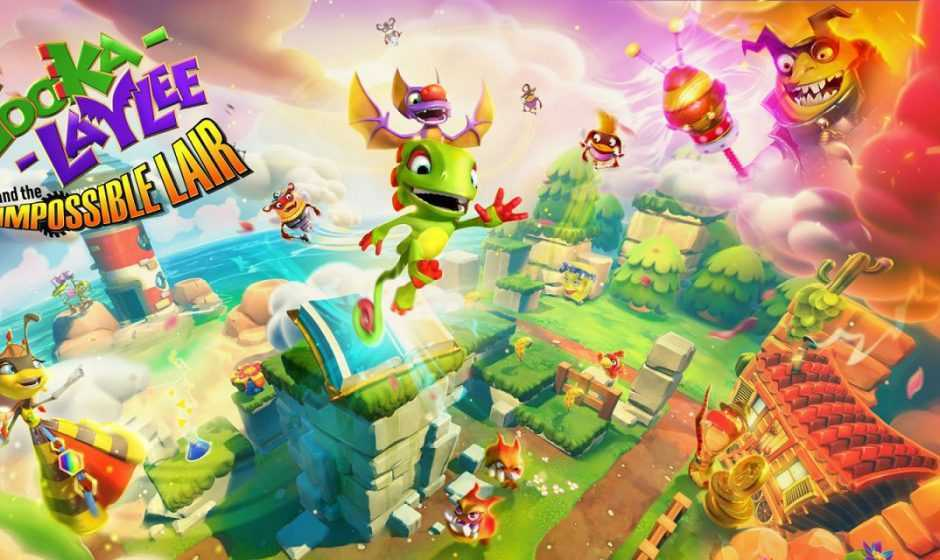 Yooka-Laylee and the Impossible Lair: demo gratuita in arrivo