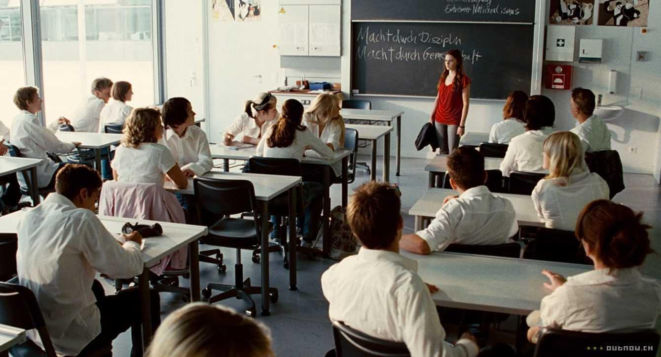Retro-recensione L'Onda, il ritorno del nazismo a scuola