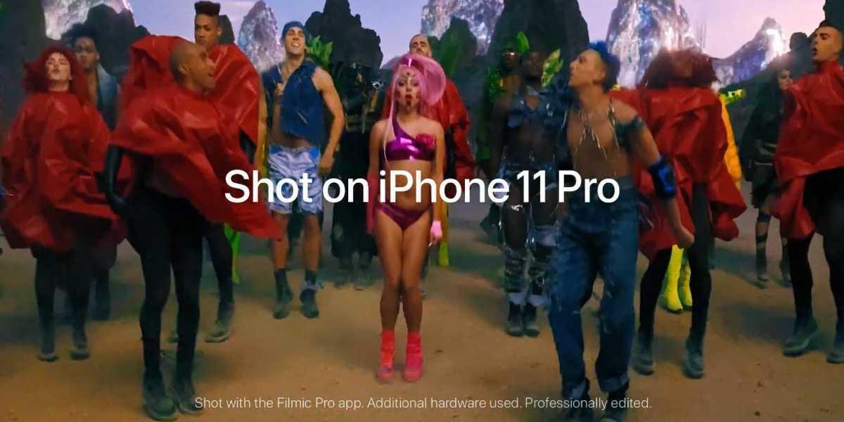 Lady Gaga: il video di Stupid Love è stato realizzato con iPhone 11 Pro