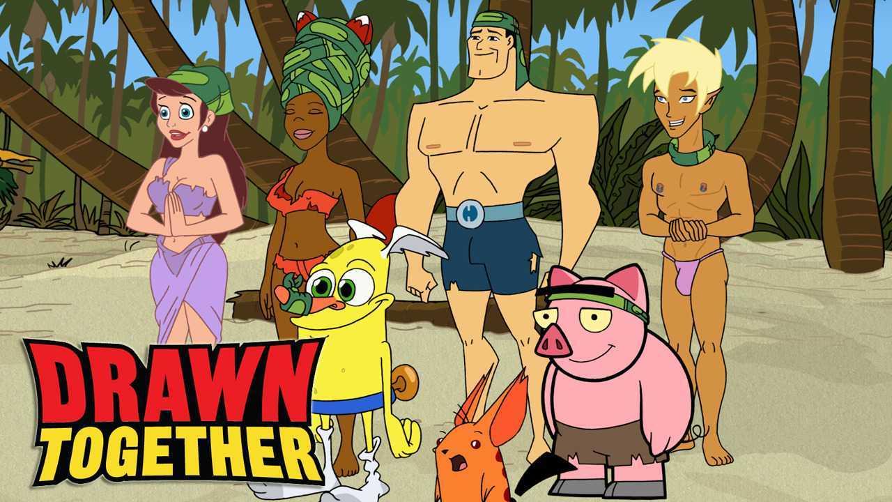 Drawn Together, reality show per adulti tra cartoni animati