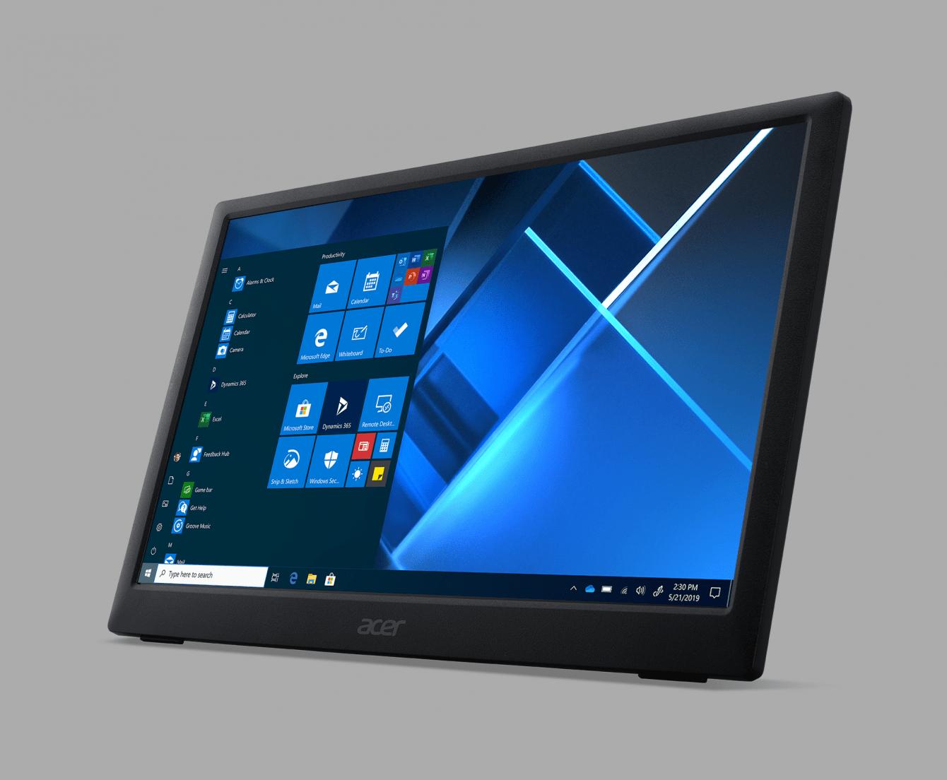 Acer: disponibile il nuovo monitor portatile PM161Q