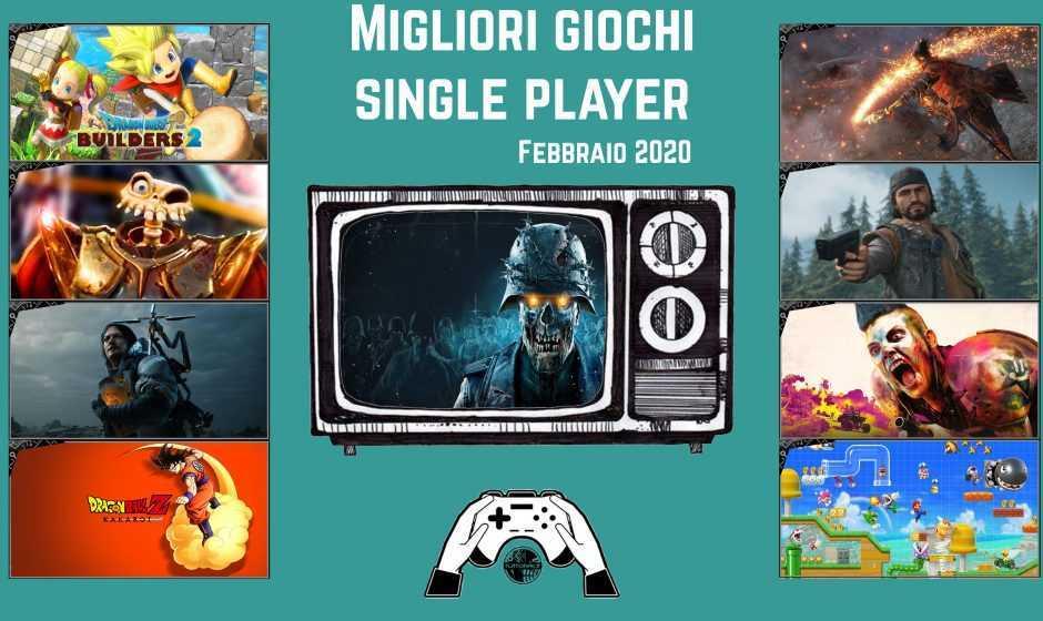 Migliori giochi single player | Febbraio 2020