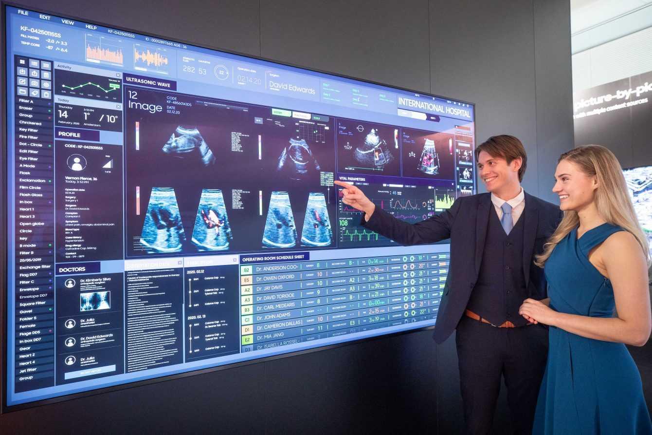Samsung a ISE 2020: presentati i display QLED 8K SMART