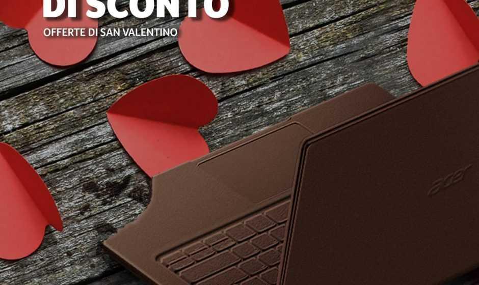Il san Valentino di Acer: sconti fino a 200 euro su molti prodotti!