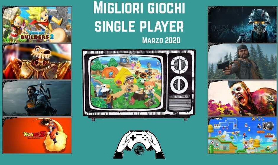 Migliori giochi single player | Marzo 2020