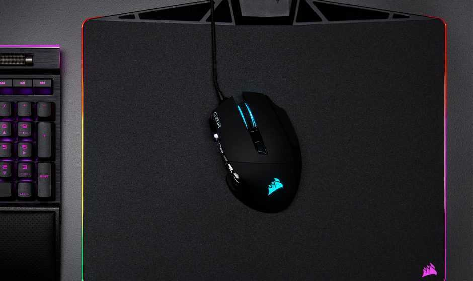Novità in casa CORSAIR: SCIMITAR RGB e mouse pad MM500