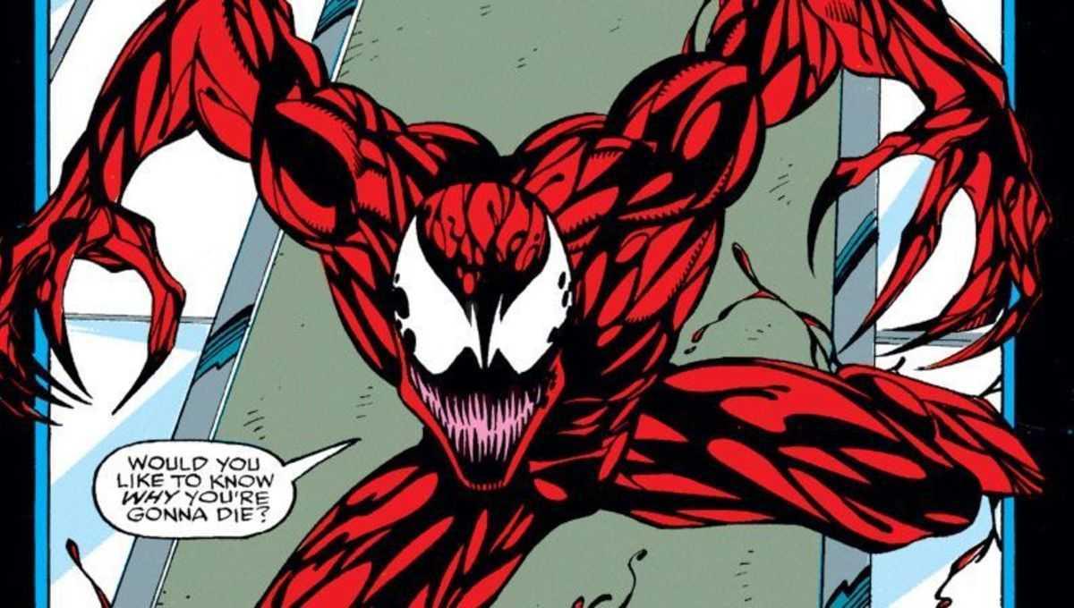Ecco un video di Carnage durante le riprese di Venom 2