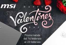 Offerte MSI: sconti sui laptop in occasione di San Valentino