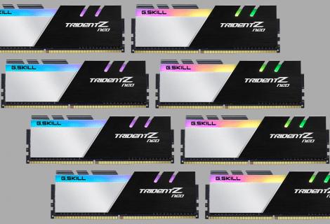 G.SKILL Trident Z Neo: nuovo kit da 256GB di RAM ad alte prestazioni