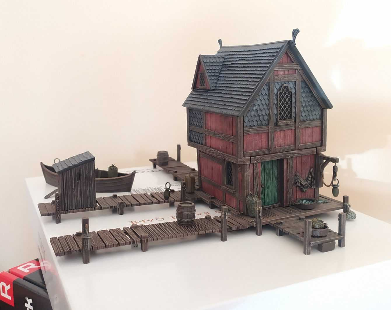 Come dipingere miniature Games Workshop - Tutorial 47: Lake-Town House