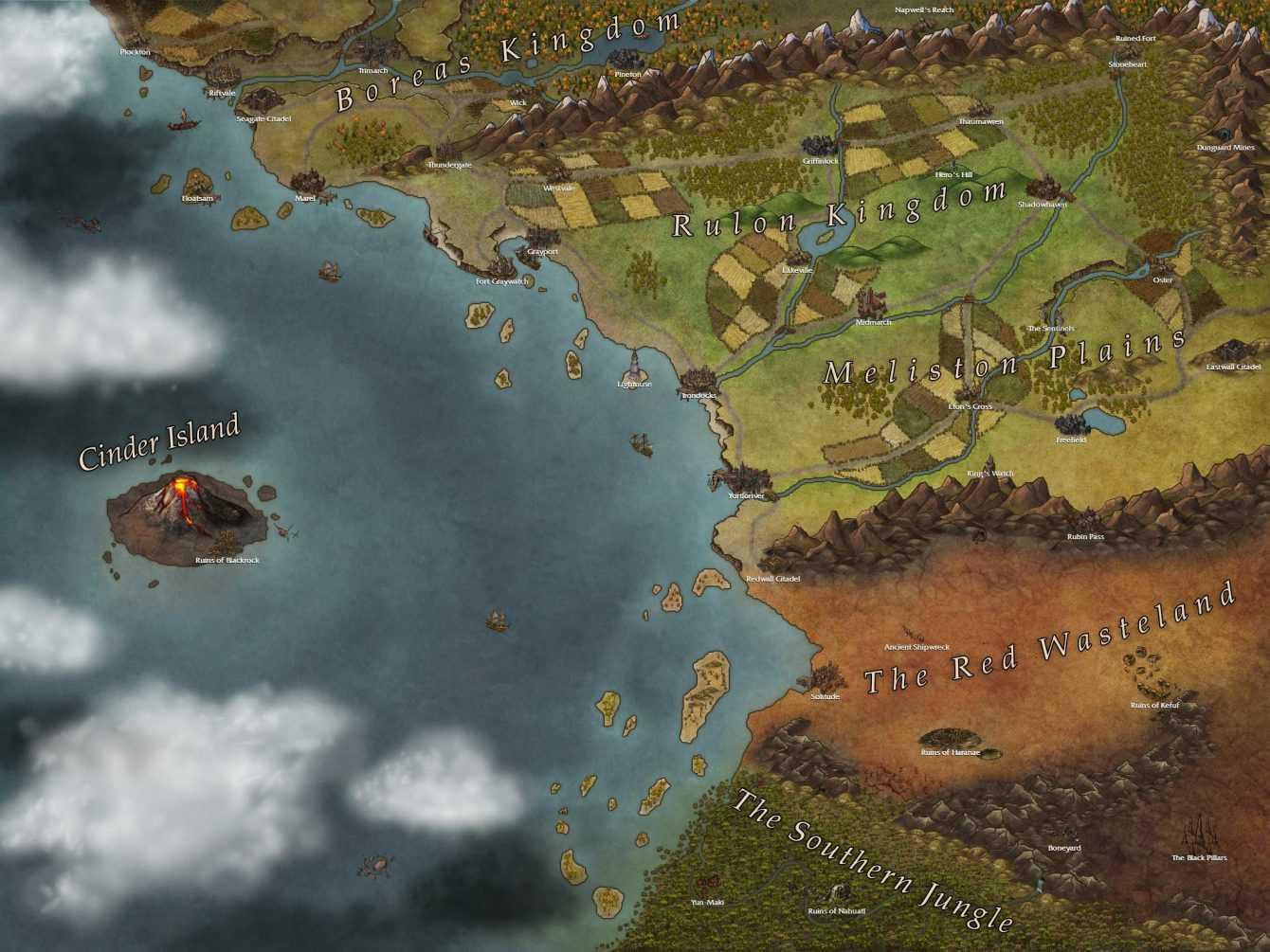 Strumenti per il Game Master: le mappe