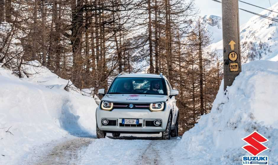 Suzuki 4x4 Hybrid Vertical Winter Tour a Bardonecchia
