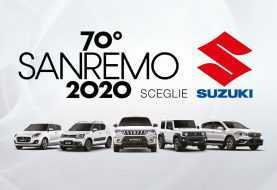 La gamma Suzuki Hybrid stella del Festival di Sanremo