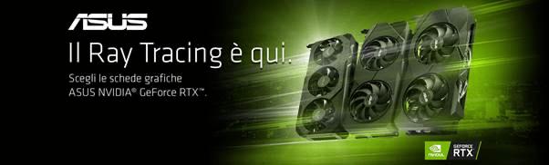 ASUS TUF: l'incredibile promozione sulle schede video NVIDIA