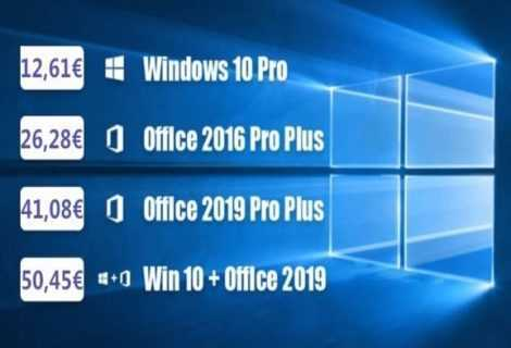 Addio Windows 7, Windows 10 PRO a 11€ con WHOkeys