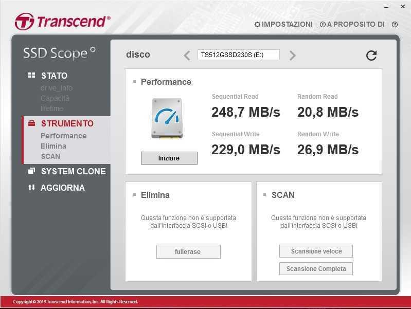 Recensione Transcend SSD230S: SSD economico orientato alle prestazioni