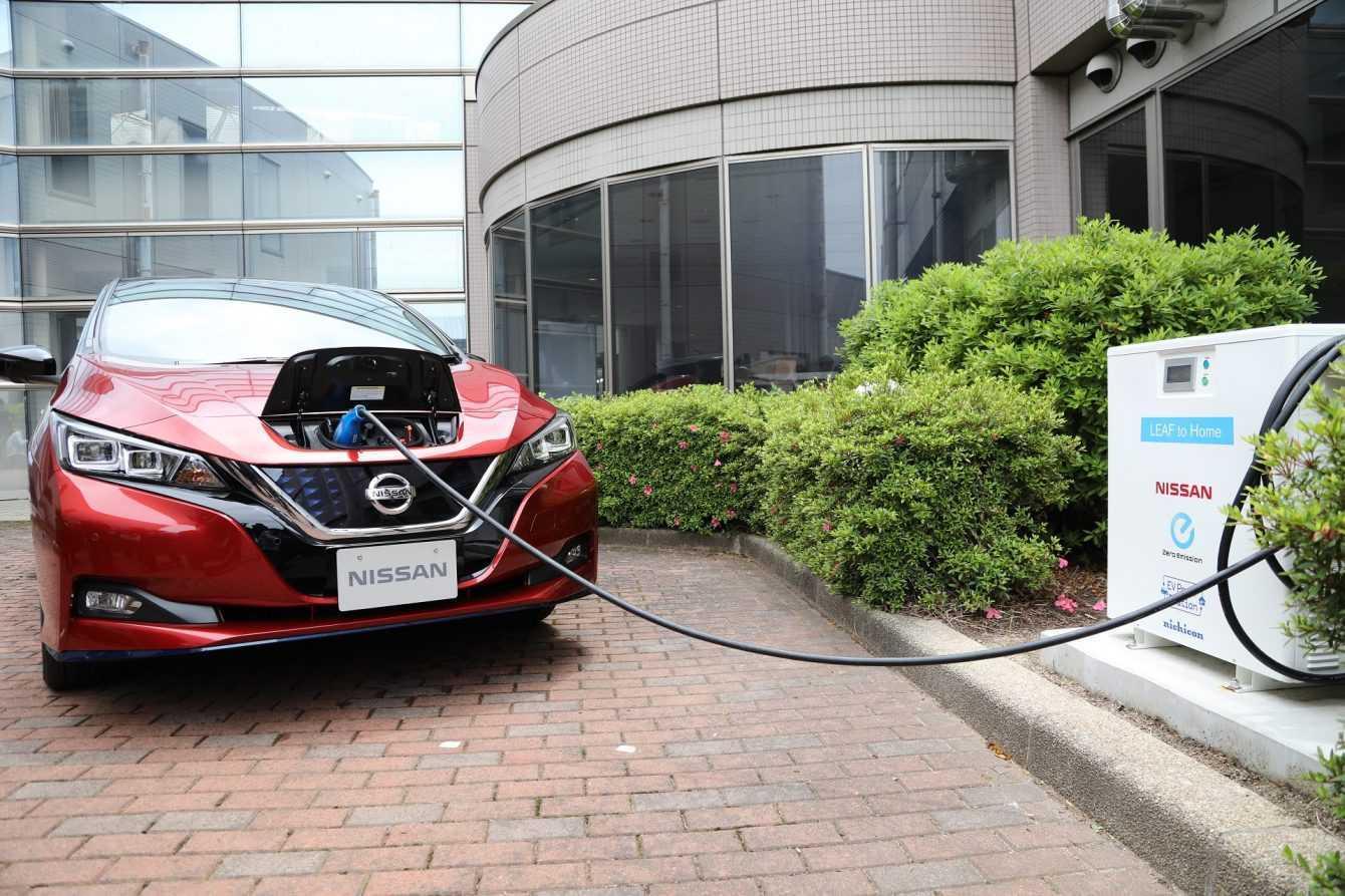 Nissan e 4R Energy aumentano la resilienza con i veicoli elettrici
