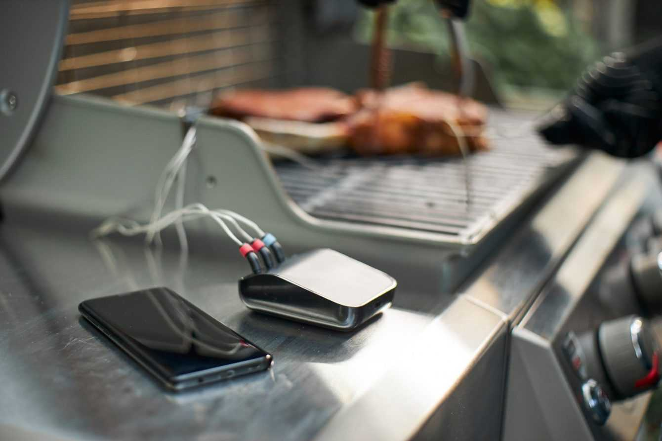 Barbecue smart con Weber Connect Smart Grilling Hub!