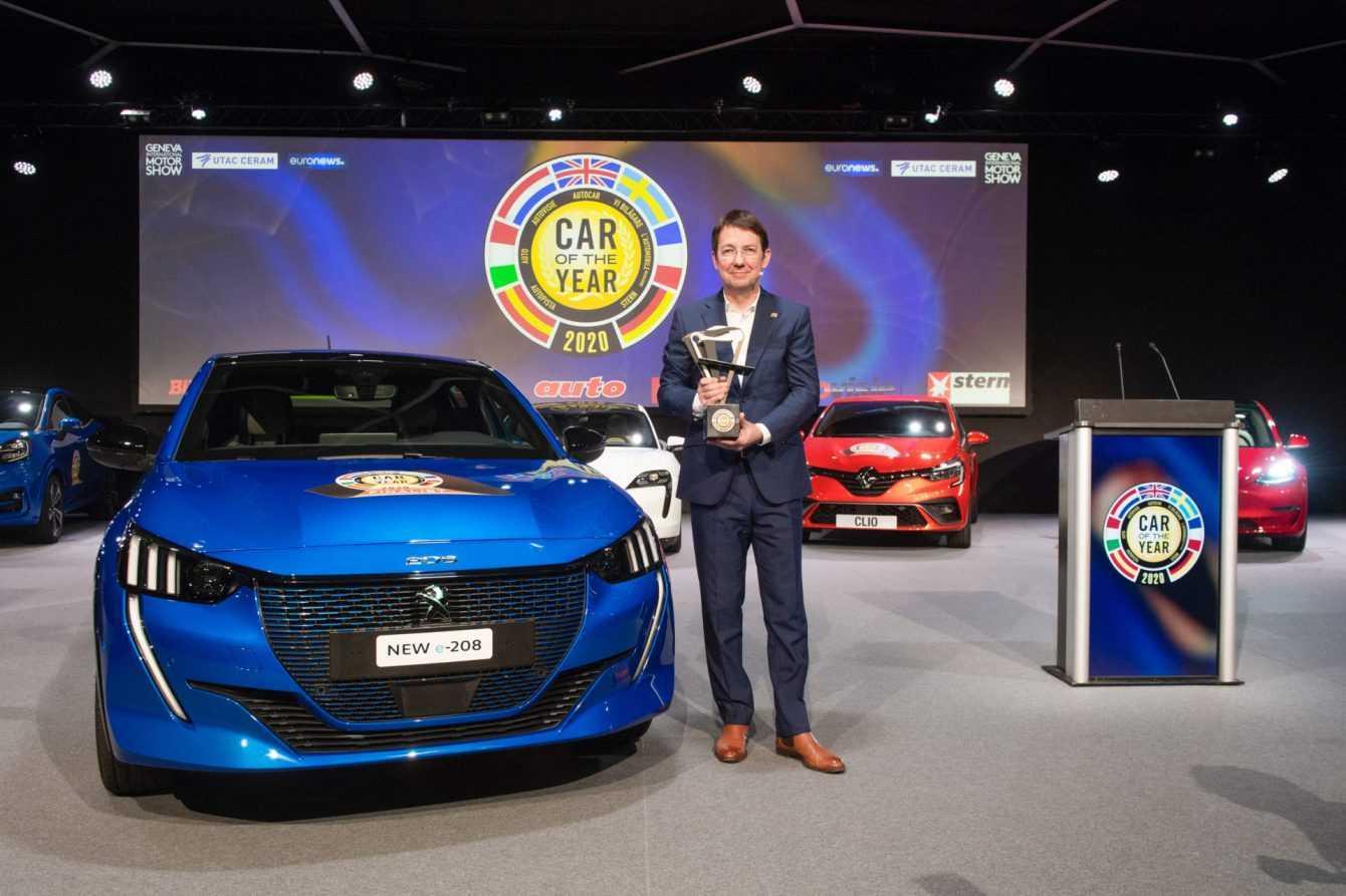 Peugeot 208 è l'Auto dell'anno 2020