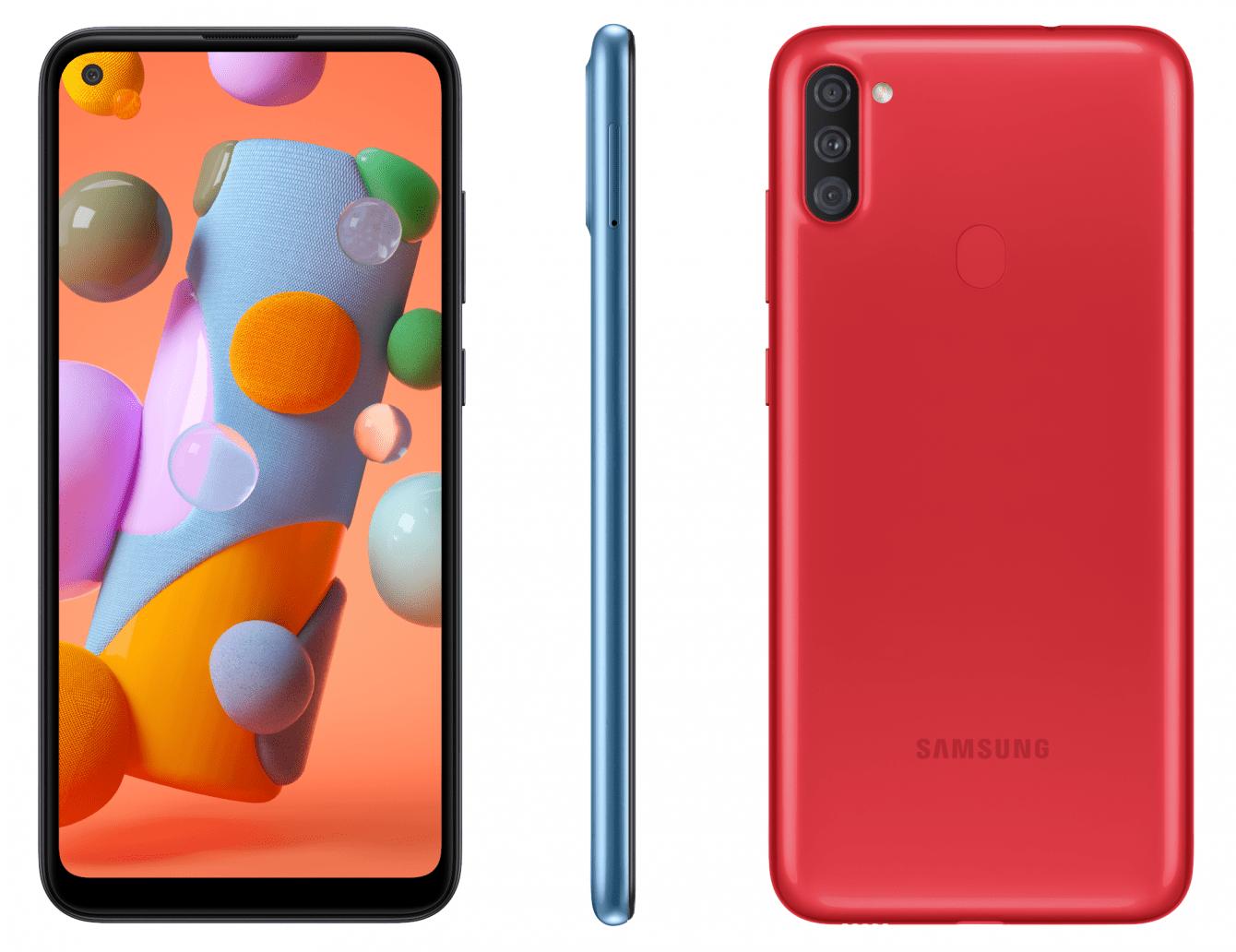 Samsung Galaxy A11: svelato sul sito ufficiale