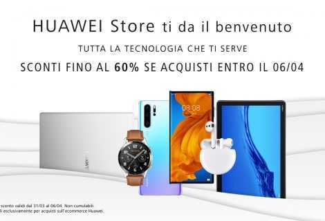 Huawei Store in Italia: numerosi sconti fino al 60%