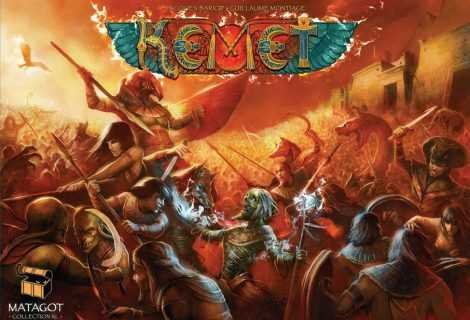 Kemet: Blood and Sand travolgerà Kickstarter