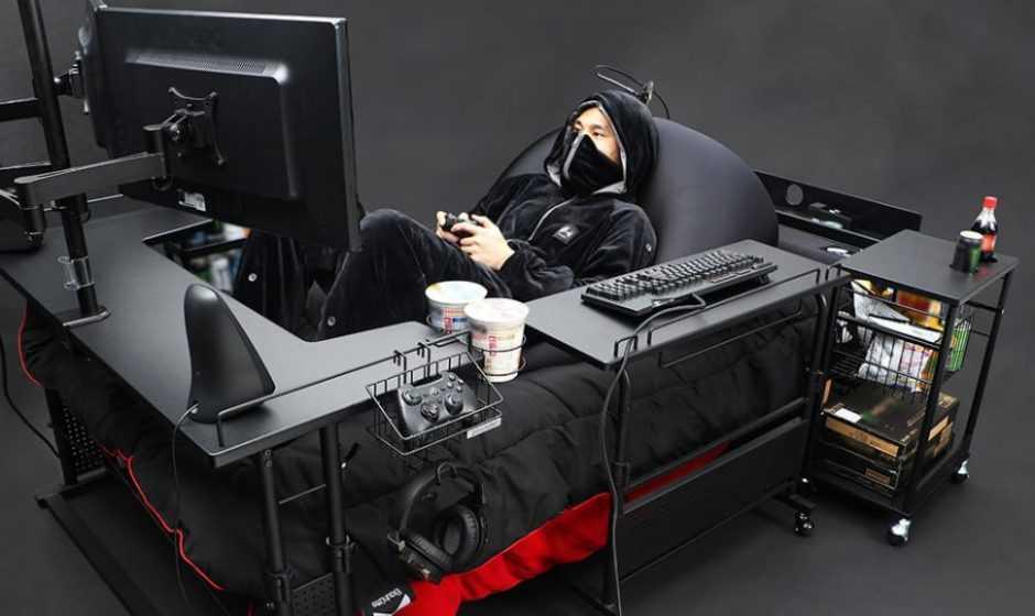 Ecco a voi il rivoluzionario letto da gamer giapponese