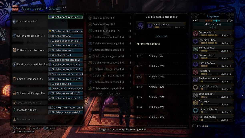 Monster Hunter World: Iceborne, guida alle armi per il Safi'jiiva