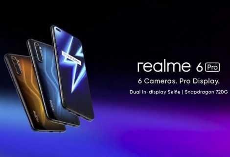 Realme lancia la nuova serie 6 e 6 Pro: novità da top di gamma