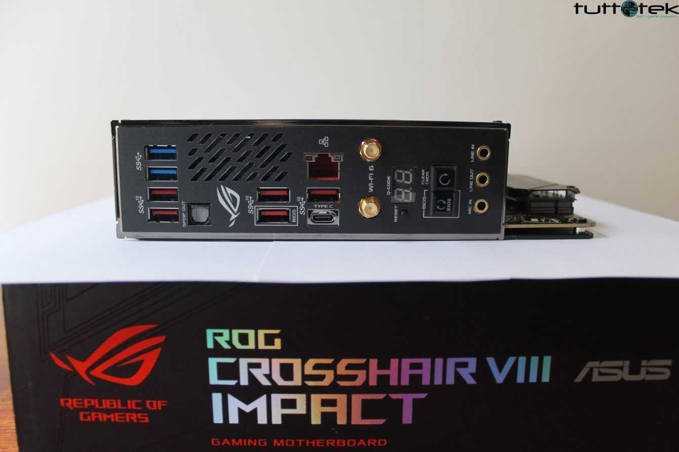 Recensione ASUS ROG Crosshair VIII Impact: un concentrato di potenza